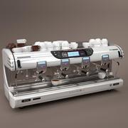 La spaziale 커피 머신 화이트 4 그룹 3d model