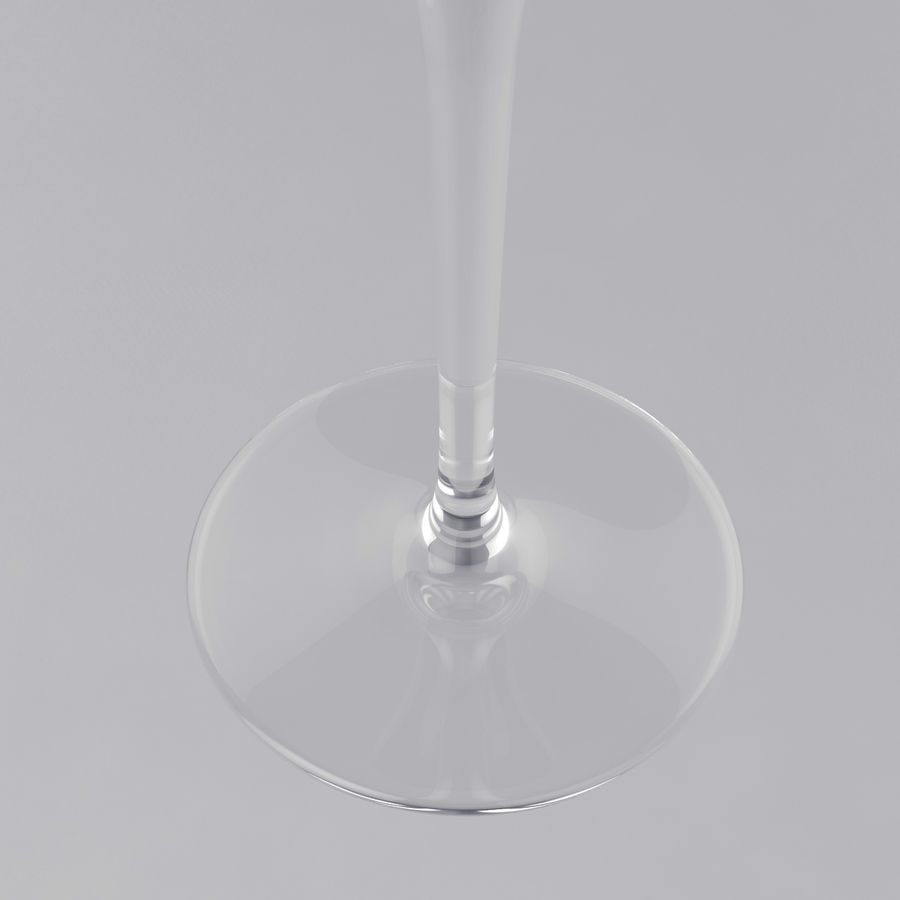 Glass of wine royalty-free 3d model - Preview no. 21