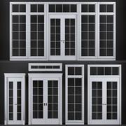 fönster, dörrar och golv 3d model