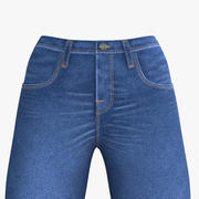 Blue jeans para mujer modelo 3d