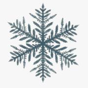 copo de nieve modelo 3d