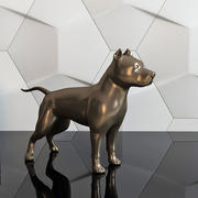 figure pit bull 3d model