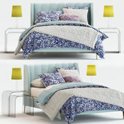 Avalon Channel Stitch Bed 3d model