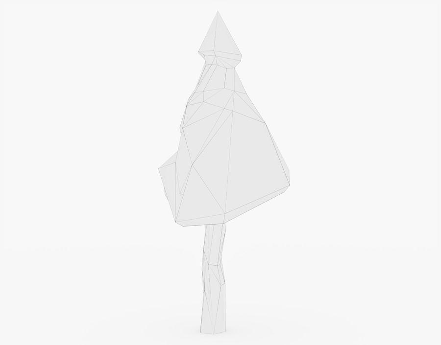 Gestileerde boom laag Poly 02 royalty-free 3d model - Preview no. 20