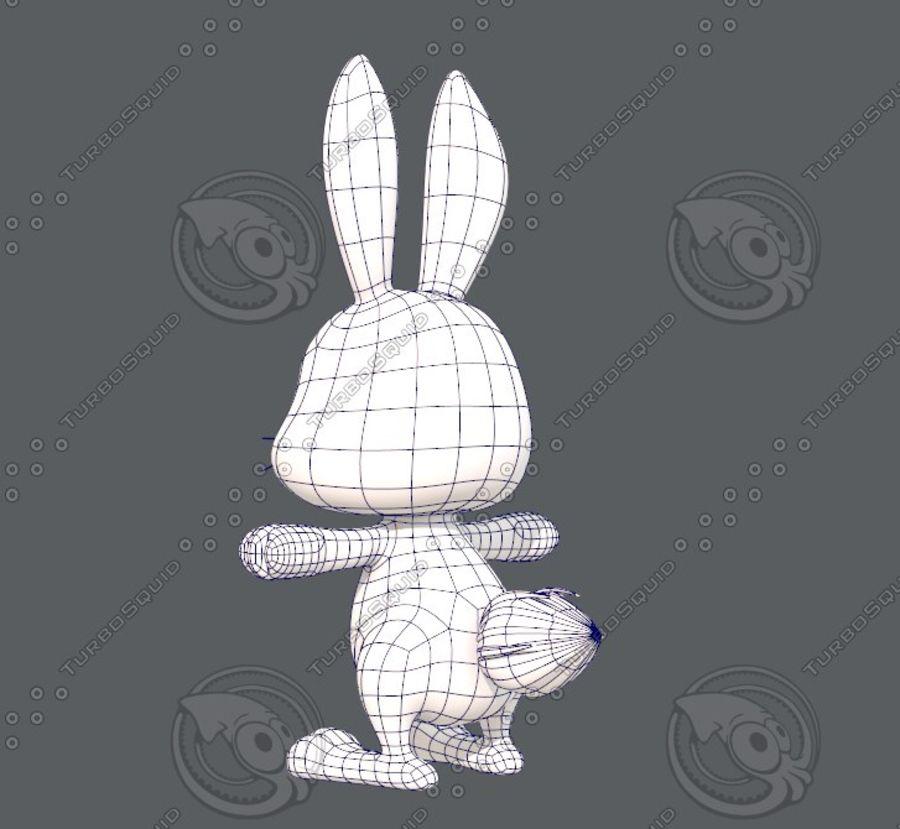 Rabbit V01 royalty-free 3d model - Preview no. 16