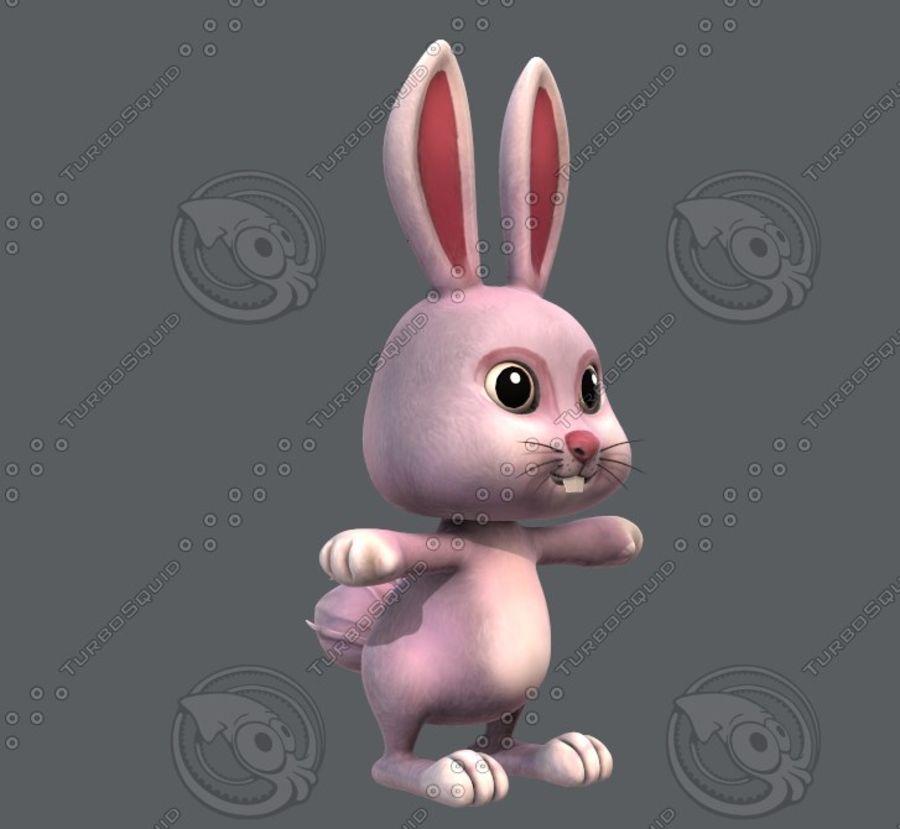 Rabbit V01 royalty-free 3d model - Preview no. 4