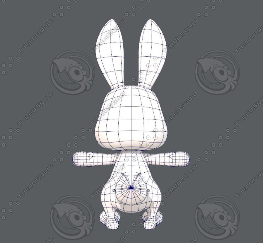 Rabbit V01 royalty-free 3d model - Preview no. 15