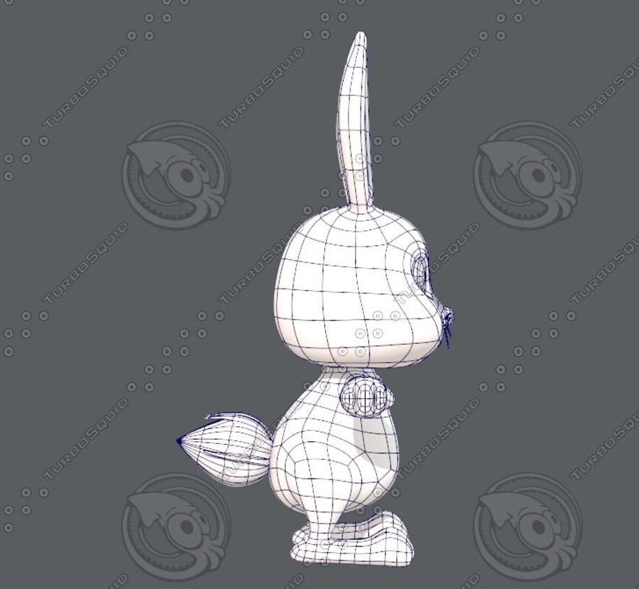 Rabbit V01 royalty-free 3d model - Preview no. 13