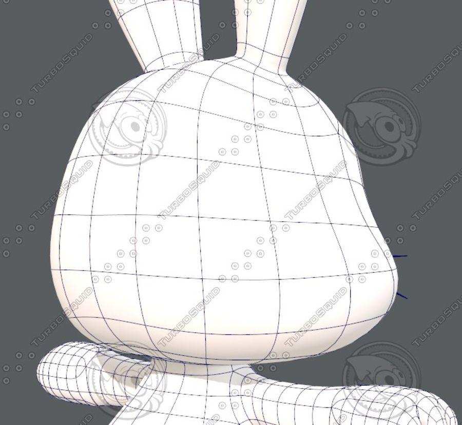 Rabbit V01 royalty-free 3d model - Preview no. 30
