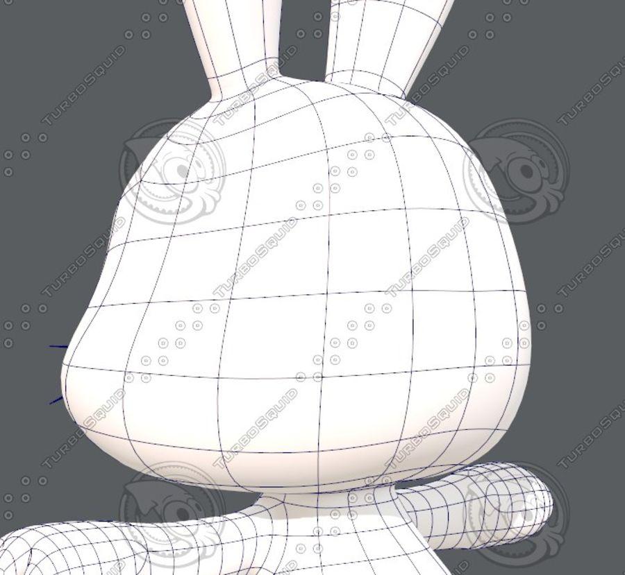 Rabbit V01 royalty-free 3d model - Preview no. 32