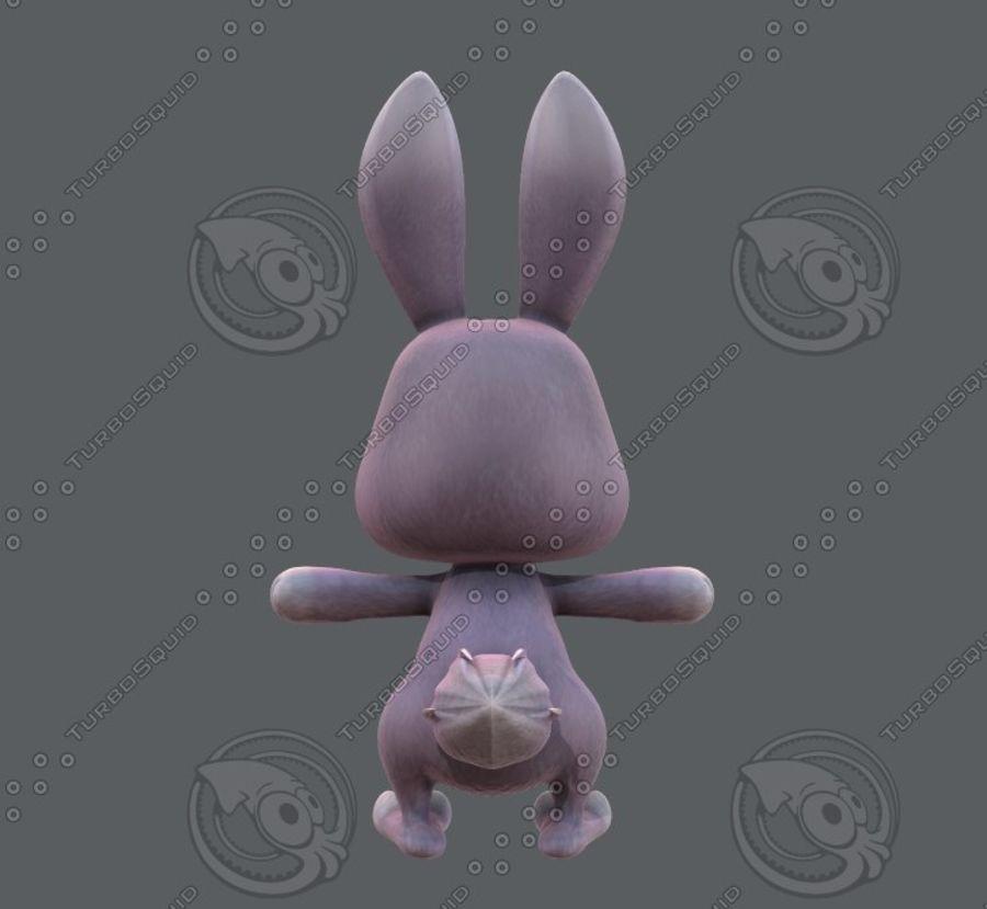 Rabbit V01 royalty-free 3d model - Preview no. 7