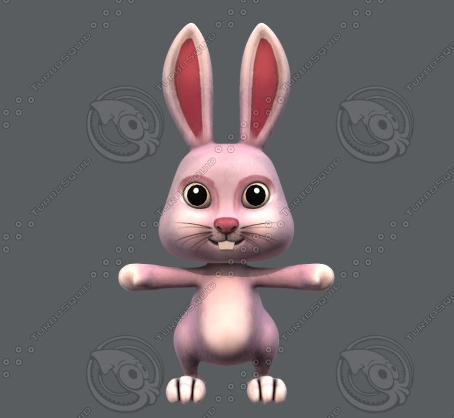 Rabbit V01 royalty-free 3d model - Preview no. 3