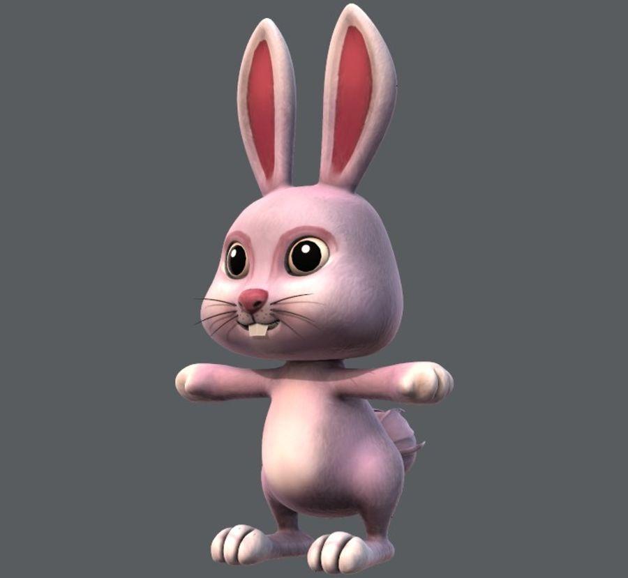 Rabbit V01 royalty-free 3d model - Preview no. 1