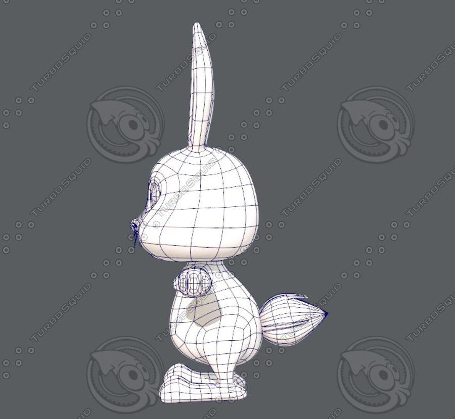 Rabbit V01 royalty-free 3d model - Preview no. 17