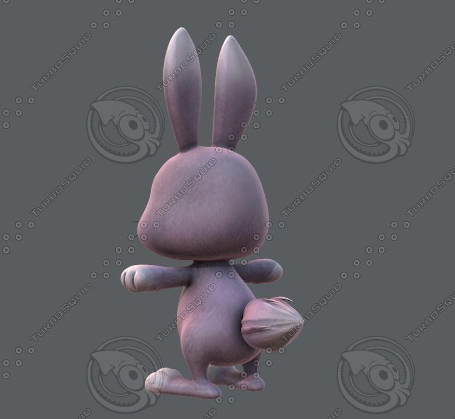 Rabbit V01 royalty-free 3d model - Preview no. 8