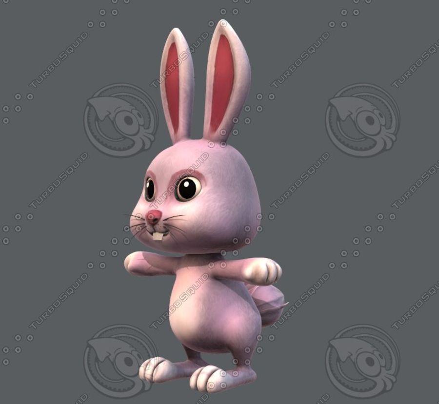Rabbit V01 royalty-free 3d model - Preview no. 10