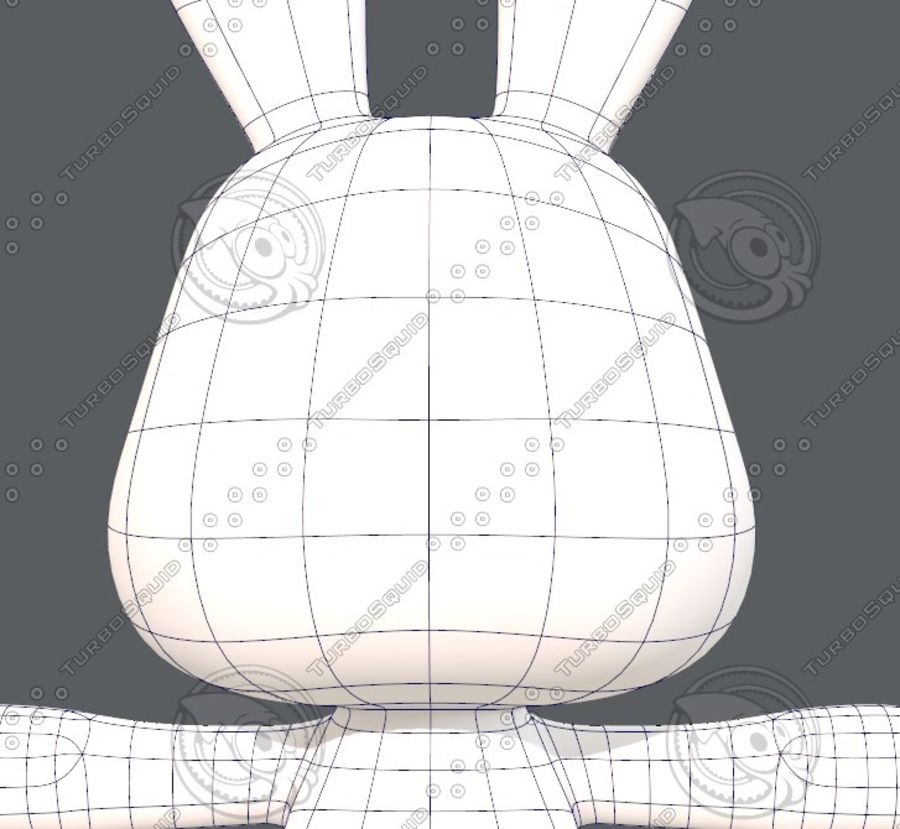Rabbit V01 royalty-free 3d model - Preview no. 31