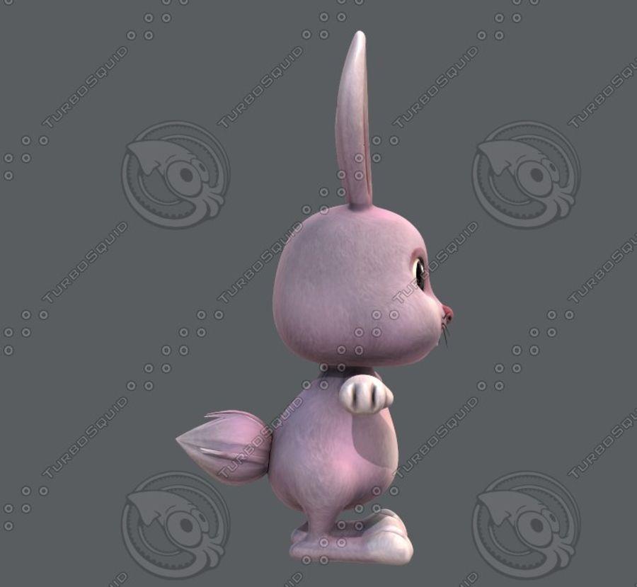 Rabbit V01 royalty-free 3d model - Preview no. 5