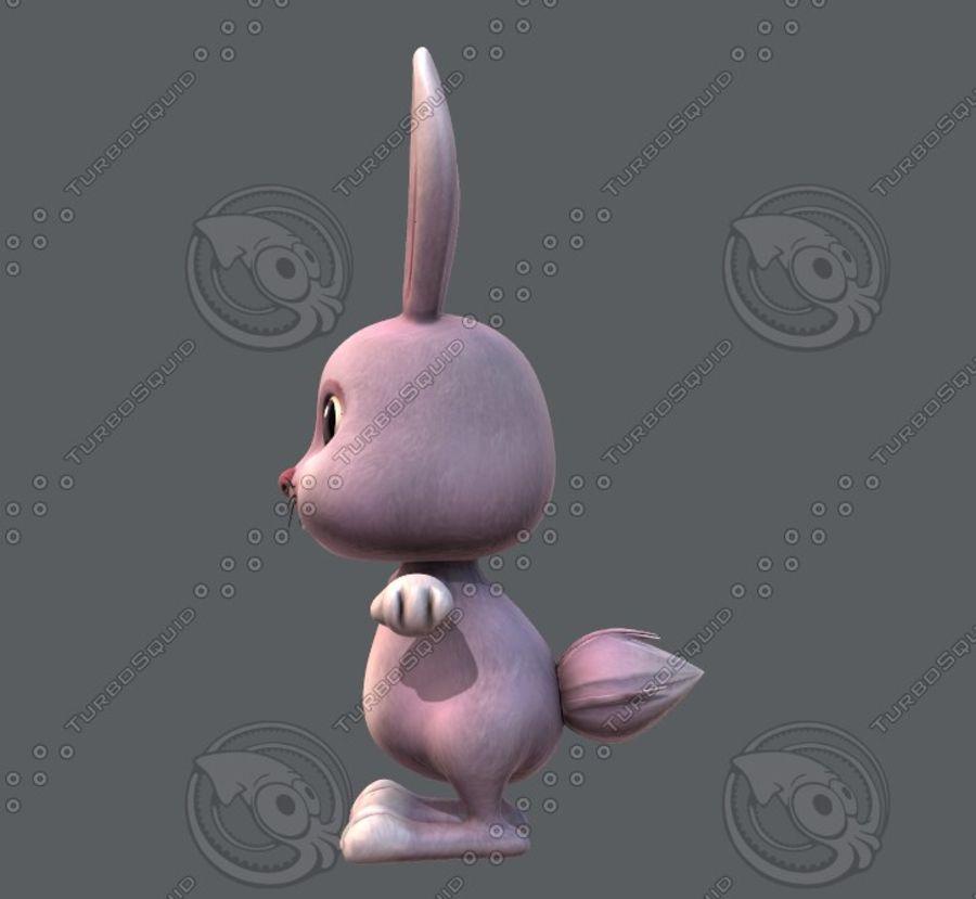 Rabbit V01 royalty-free 3d model - Preview no. 9