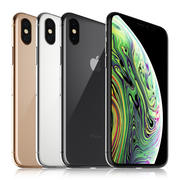 Apple iPhone XS Todos los colores modelo 3d