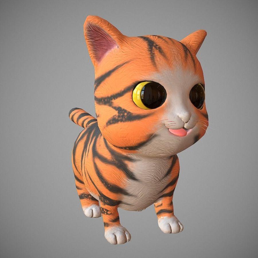 凯蒂猫 royalty-free 3d model - Preview no. 1