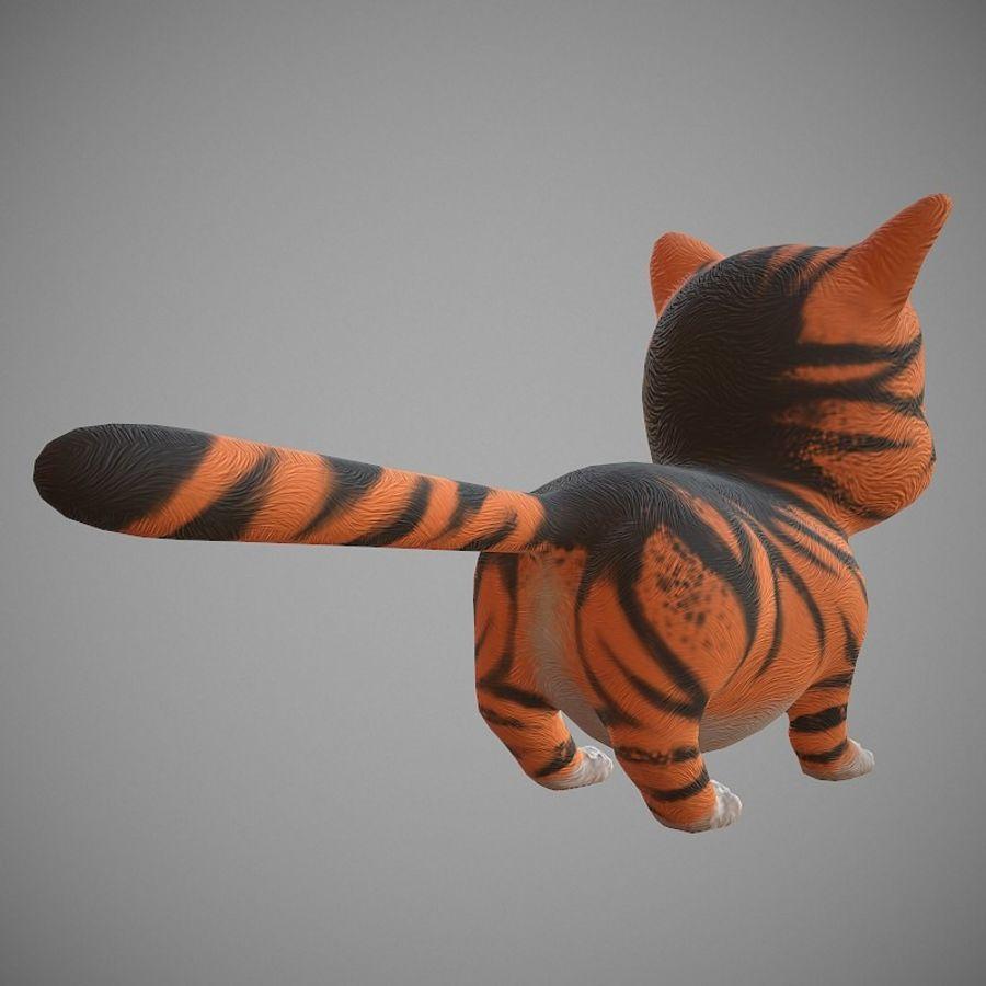 凯蒂猫 royalty-free 3d model - Preview no. 5