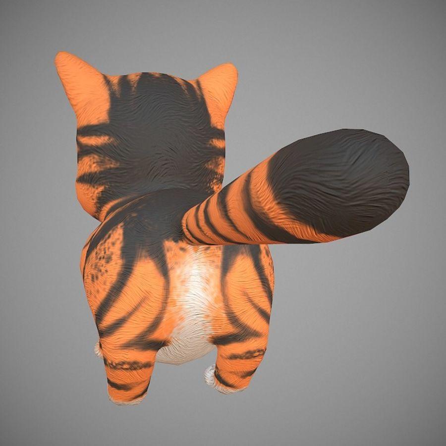 凯蒂猫 royalty-free 3d model - Preview no. 6