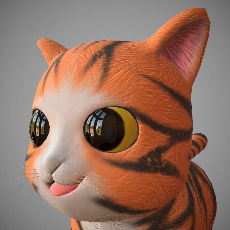 凯蒂猫 royalty-free 3d model - Preview no. 2