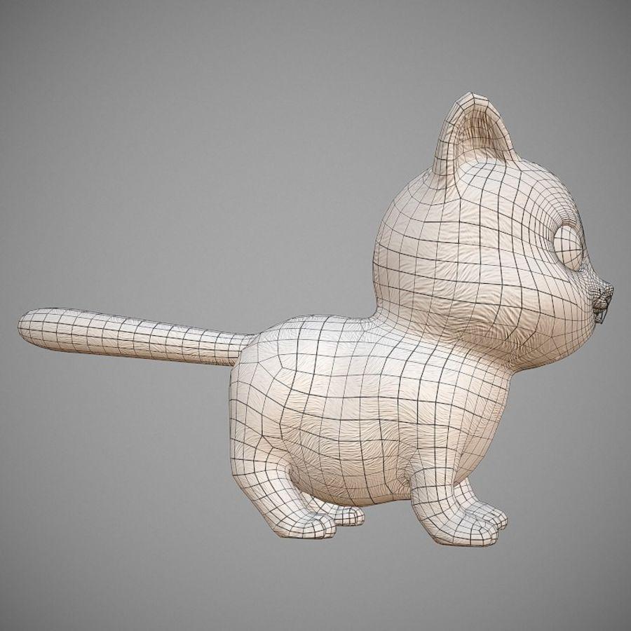 凯蒂猫 royalty-free 3d model - Preview no. 12