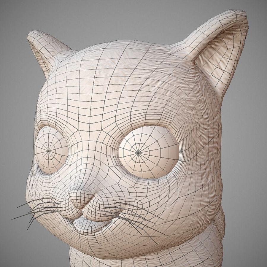 凯蒂猫 royalty-free 3d model - Preview no. 10