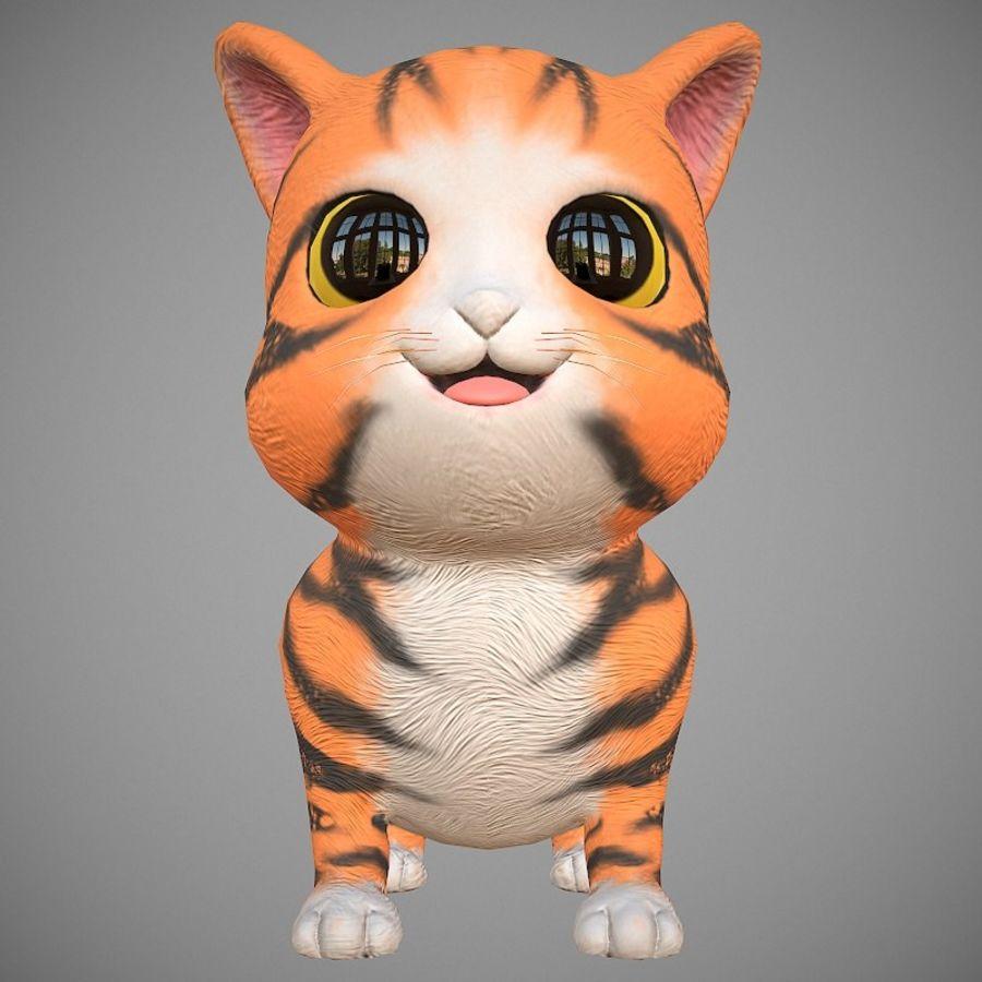 凯蒂猫 royalty-free 3d model - Preview no. 3