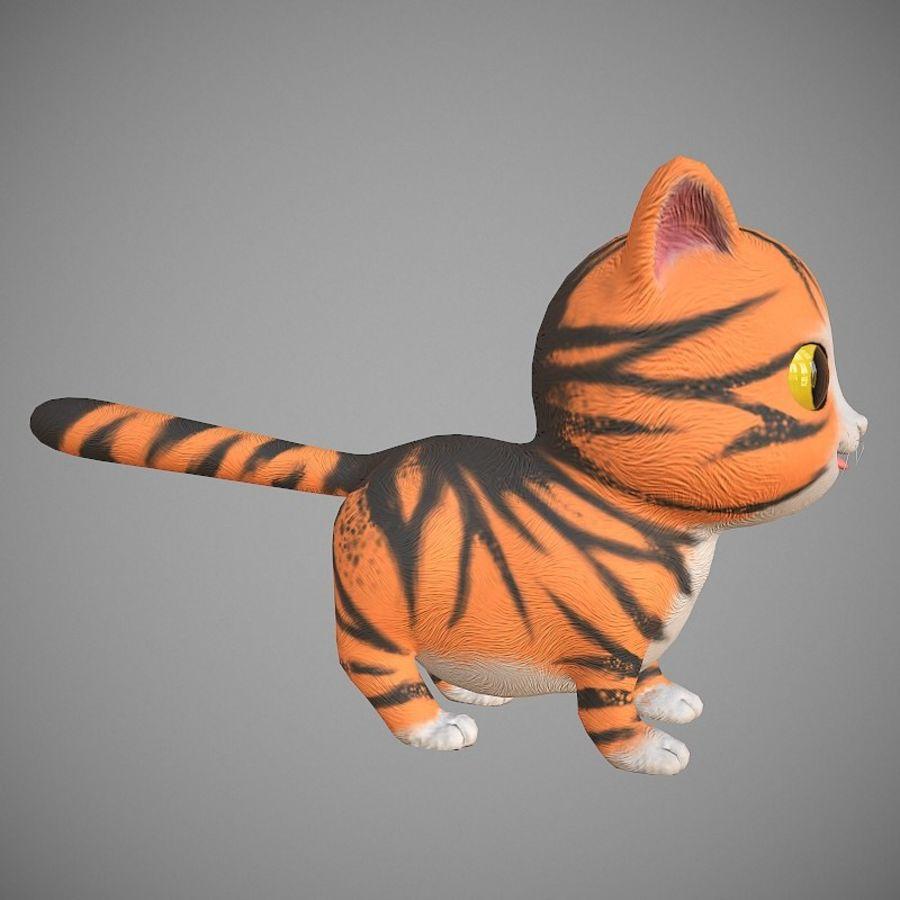 凯蒂猫 royalty-free 3d model - Preview no. 4