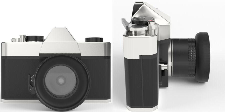 Spiegelreflexkamera royalty-free 3d model - Preview no. 3