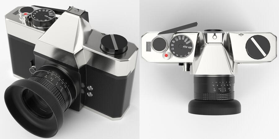 Spiegelreflexkamera royalty-free 3d model - Preview no. 4