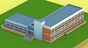 Детский сад 3d model