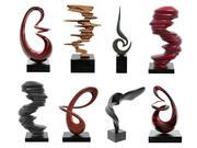 Современная абстрактная скульптурная декорация 3d model
