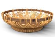 Fruit basket ROSE 3d model