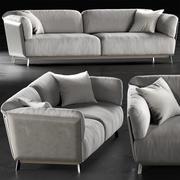 Ditre Italia Kailua Soffa 3d model