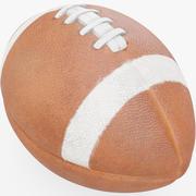 美式足球玩具 3d model