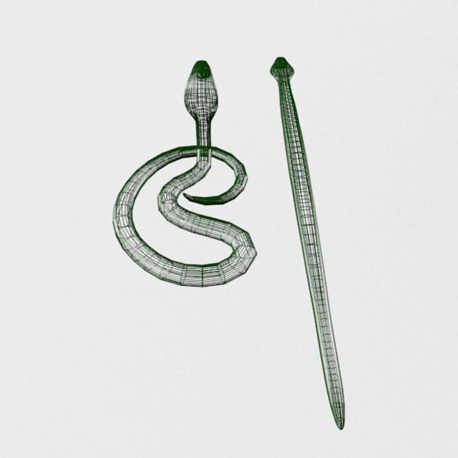 眼镜蛇蛇 royalty-free 3d model - Preview no. 6
