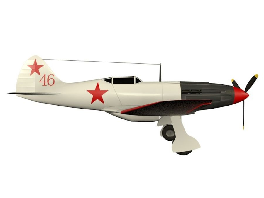 Mig 3 royalty-free 3d model - Preview no. 8