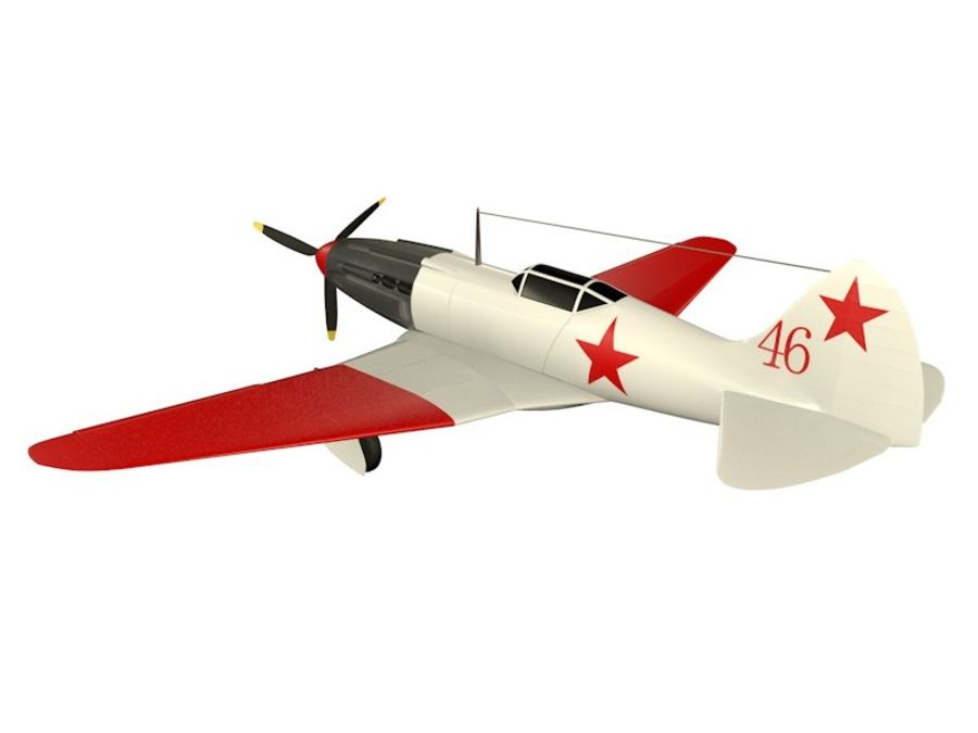 Mig 3 royalty-free 3d model - Preview no. 4