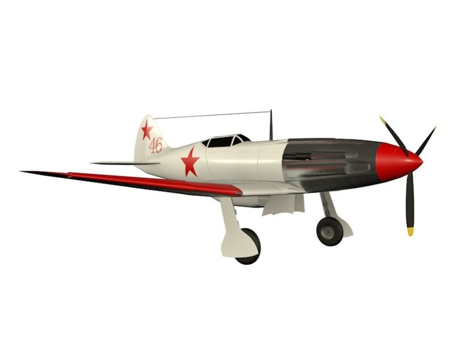 Mig 3 royalty-free 3d model - Preview no. 7