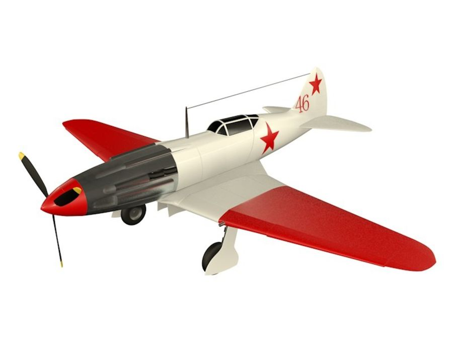 Mig 3 royalty-free 3d model - Preview no. 1
