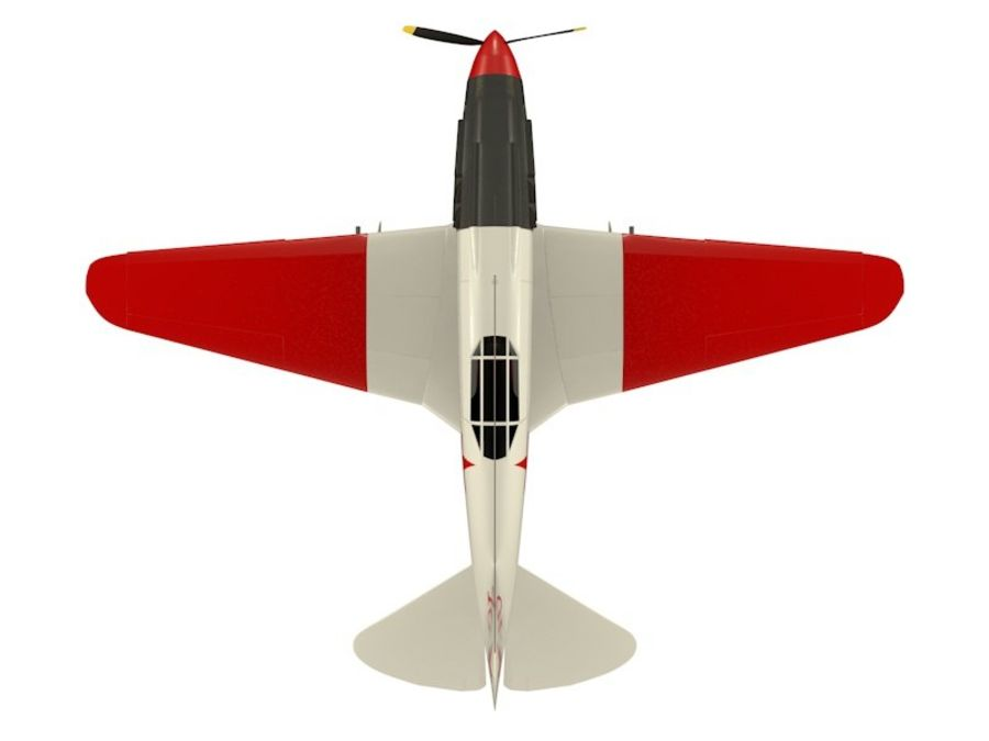 Mig 3 royalty-free 3d model - Preview no. 11