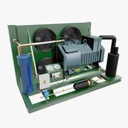 Compressore a gas 3d model
