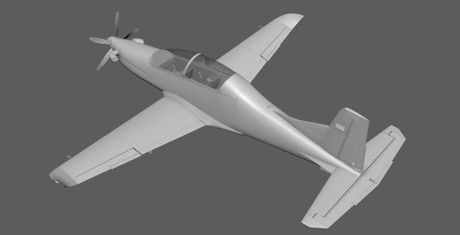 Hurkus 3D Plane/Aircraft Model royalty-free 3d model - Preview no. 2