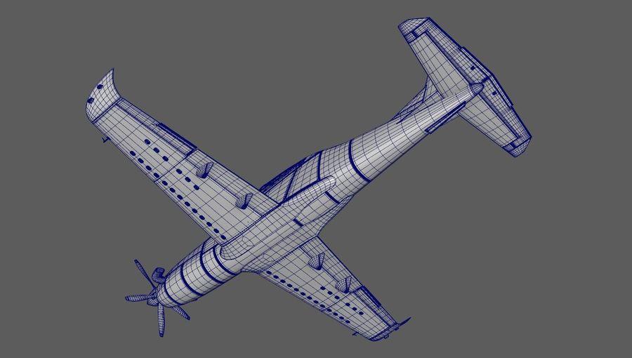 Hurkus 3D Plane/Aircraft Model royalty-free 3d model - Preview no. 6