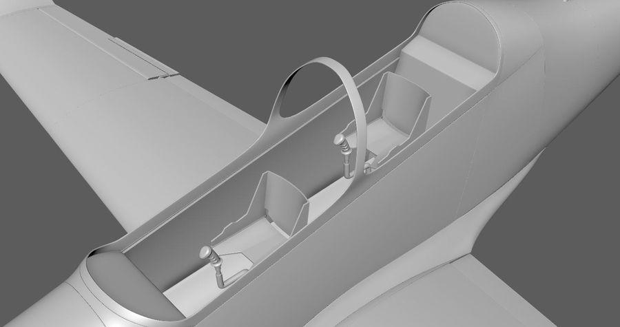 Hurkus 3D Plane/Aircraft Model royalty-free 3d model - Preview no. 4