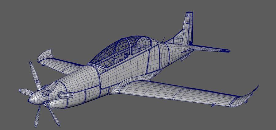 Hurkus 3D Plane/Aircraft Model royalty-free 3d model - Preview no. 5